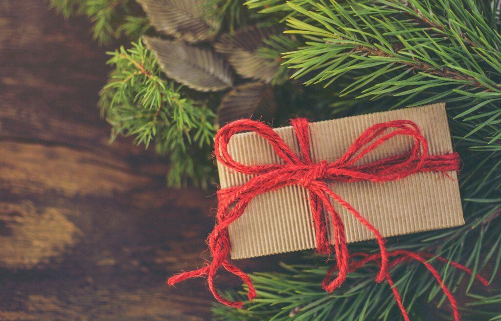 DIY-Verpackung Weihnachtsgeschenk