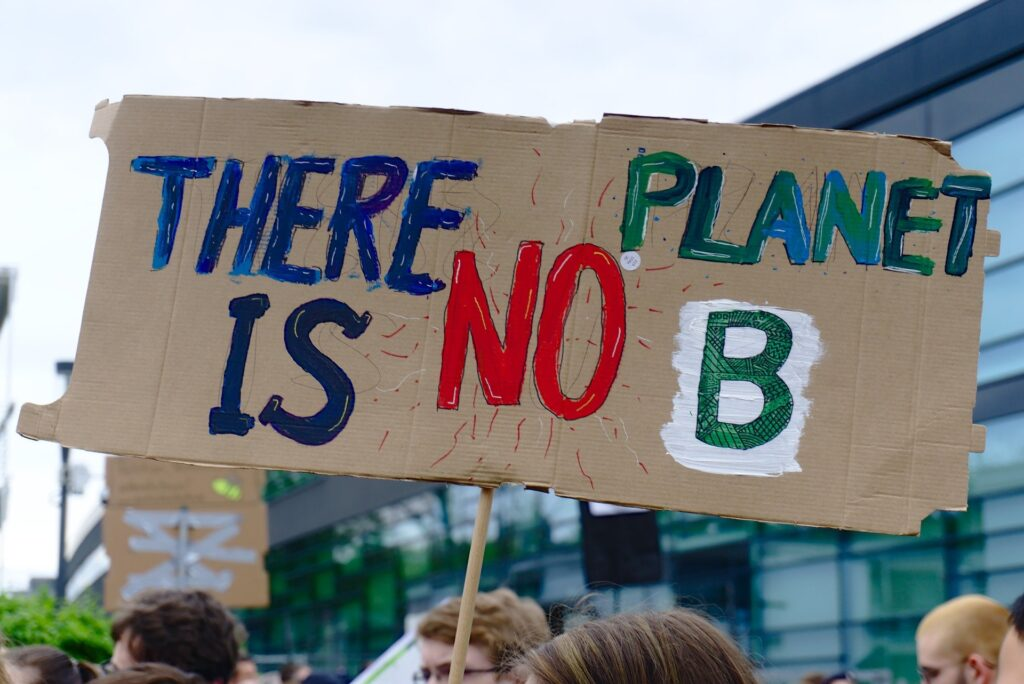 "Plakat ""There is no Planet B"""