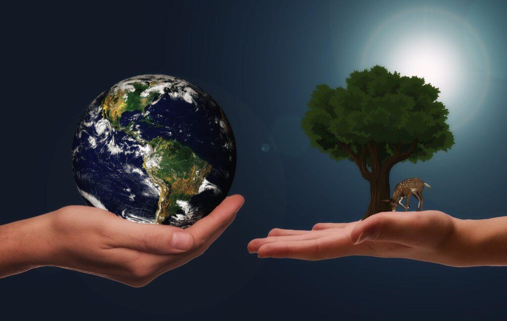 Symbol für Klima- und Umweltschutz